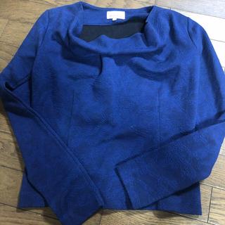 ヴィヴィアンウエストウッド(Vivienne Westwood)のトップス  ニット ヴィヴィアン レッドレーベル ブルー 青(Tシャツ(長袖/七分))