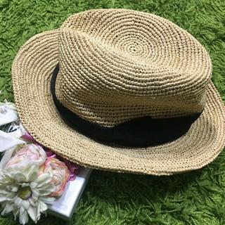 CA4LA - 美品カシラ 夏に大活躍の麦わら帽子