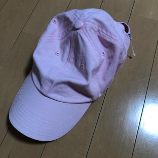 ウィゴー(WEGO)の🧡キャップ 帽子 ピンク(キャップ)