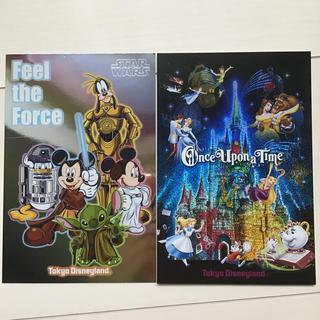 ディズニー(Disney)の東京ディズニーランドポストカード2枚セット(写真/ポストカード)