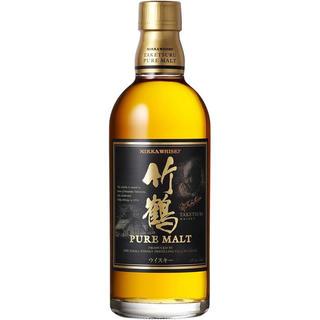 ニッカウイスキー(ニッカウヰスキー)の【終売品】竹鶴ピュアモルト 12本セット(ウイスキー)
