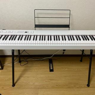 コルグ(KORG)のみい様専用 電子ピアノ 電子キーボード KORG D1 ホワイト(電子ピアノ)