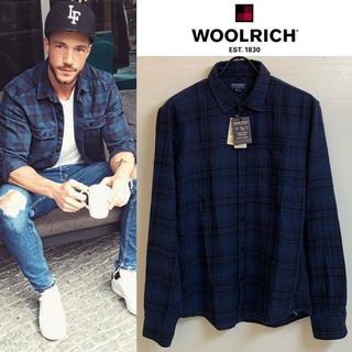 ウールリッチ(WOOLRICH)のWOOLRICH JOHN RICH & BROS 新品 チェックシャツ BL(シャツ)