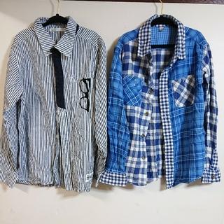 ikka - ikka(140cm),ユニクロ(130cm)・2点セットシャツ