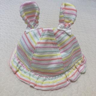 シマムラ(しまむら)の◆未使用◆ベビー帽子 うさ耳 ハット 46cm(帽子)