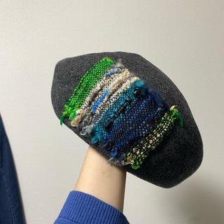 CA4LA - CA4LA カシラ ベレー帽 ウール100%
