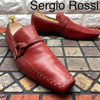 Sergio Rossi セルジオロッシ ローファー 革靴 8