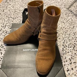 Saint Laurent - SAINT LAURENT PARIS リングブーツ 42