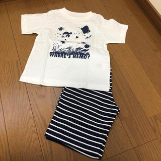 ジーユー(GU)のgu 新品 半袖パジャマ 120(パジャマ)
