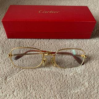 Cartier - カルティエ トリニティ ゴールドフレーム メガネ サングラス
