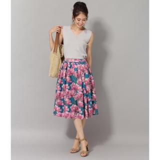 アンデミュウ(Andemiu)のアンデミュウ♡新品タグ付き♡花柄スカート♡(ひざ丈スカート)
