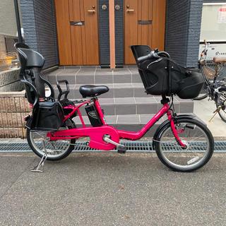 パナソニック(Panasonic)の完成その2❣️新車みたい?子供乗せ自転車(自転車本体)