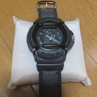 ベビージー(Baby-G)の黒に近いグレーがシックなBaby-G 腕時計(腕時計)