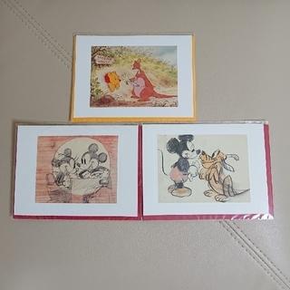 ディズニー(Disney)の【新品・未開封】ディズニー グリーティングカード(カード/レター/ラッピング)