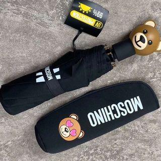 モスキーノ(MOSCHINO)のMOSCHINO ★ 折りたたみ傘 新品(傘)