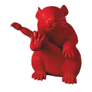 メディコムトイ(MEDICOM TOY)のLOVE RAT RED Ver.  ラブラット ラブ ラット loverat(彫刻/オブジェ)