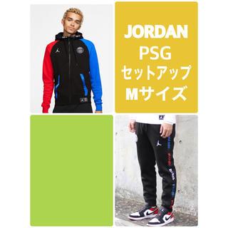 ナイキ(NIKE)のNIKE JORDAN PSG フリースフルジップ&フリースパンツ セットアップ(ブルゾン)
