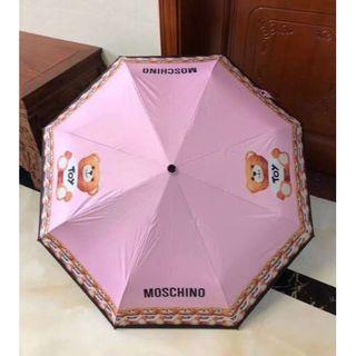 モスキーノ(MOSCHINO)のMOSCHINO ★ 折りたたみ傘/ピンク(傘)
