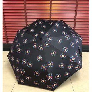 モスキーノ(MOSCHINO)の美品MOSCHINO ★ 折りたたみ傘/黒い(傘)