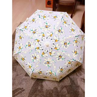 ダズリン(dazzlin)のdazzlin マーガレット柄 折り畳み傘(傘)
