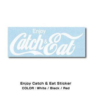 Catch&Eat【Enjoy Catch&Eat ステッカー】(その他)