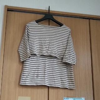 西松屋 - 授乳服 L 半袖 ➕おまけつけます🎵