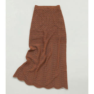 TODAYFUL - タグ付き 完売 lacy knit sk  38