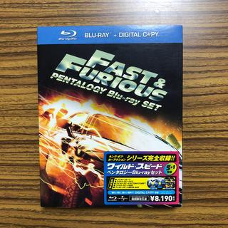 ユニバーサルエンターテインメント(UNIVERSAL ENTERTAINMENT)のワイルド・スピード ペンタロジー(デジタルコピー付) Blu-ray(外国映画)