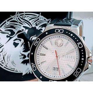 ヴェルサーチ(VERSACE)の◆激レア◆世界限定品◆新品 高級VERSUS VERSACE 腕時計 ホワイト(腕時計(アナログ))