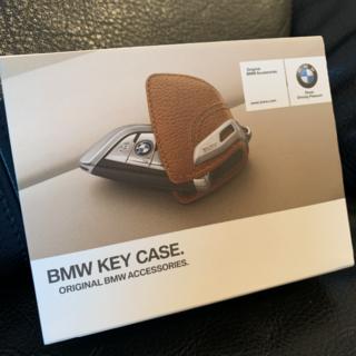 ビーエムダブリュー(BMW)のBMW純正リモコンレザーキーケース(色:サドルブラウン)(その他)