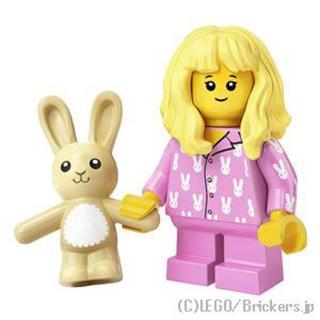LEGOミニフィグ19 パジャマガール