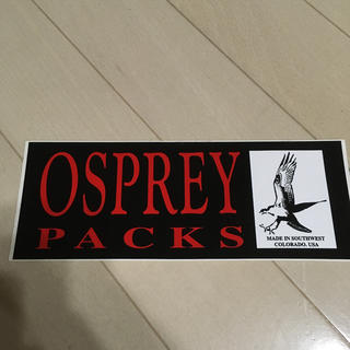 オスプレイ(Osprey)のオスプレー ステッカー(登山用品)