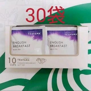 スターバックスコーヒー(Starbucks Coffee)の♡紅茶のみ・30袋♡ スターバックス ティバーナ イングリッシュブレックファース(茶)