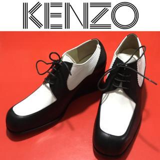 ケンゾー(KENZO)のKENZO ウェッジソール ブーティ ケンゾー 新品 デッドストック 貴重(ブーティ)