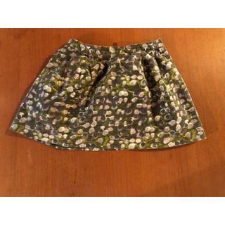 Bonpoint - Bonpoint ミニスカート 水玉 ボンポワン 6 スカート 110cm