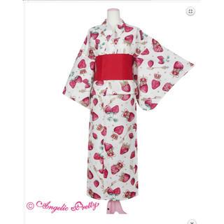 アンジェリックプリティー(Angelic Pretty)のRoyal Crown Berry浴衣セット シロ(浴衣)