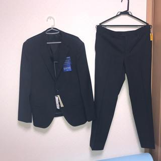 アオヤマ(青山)の新品未使用タグ付 ritorno 青山 スーツ AB5 グレー チェック セット(セットアップ)