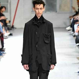 Yohji Yamamoto - Yohji Yamamoto 20ss look11 フラップジャケット