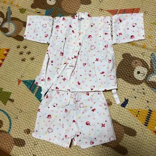 ファミリア(familiar)のファミリア  甚平 女の子 80(甚平/浴衣)