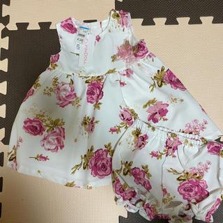 ニシマツヤ(西松屋)のベビー セットアップ ドレス(セレモニードレス/スーツ)