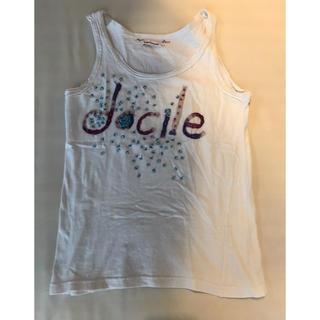 インディオ(indio)のハンドメイド加工タンクトップ(Tシャツ(半袖/袖なし))