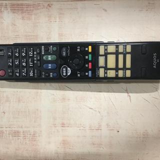 アクオス(AQUOS)のシャープ レコーダー用リモコン(ブルーレイレコーダー)