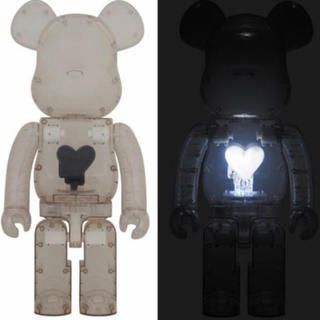 メディコムトイ(MEDICOM TOY)のBE@RBRICK EMOTIONALLY Black Heart 1000%(その他)