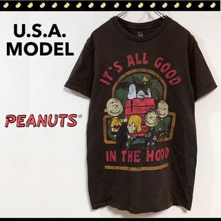 ピーナッツ(PEANUTS)のピーナッツ★It's All Good In The Hood★Tシャツ(Tシャツ/カットソー(半袖/袖なし))