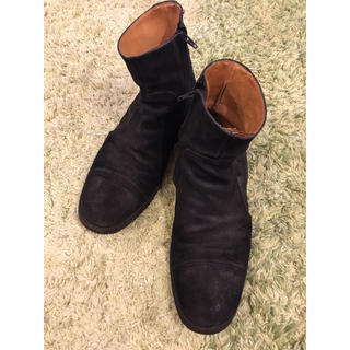 マルタンマルジェラ(Maison Martin Margiela)のマルタンマルジェラ ジップブーツ サイズ41(ブーツ)