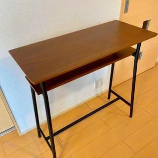 Olney カウンターテーブル 幅90 ウォールナット(バーテーブル/カウンターテーブル)