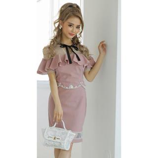 ジュエルズ(JEWELS)の美品☆キャバドレス TIKA dazzy store デイジー an(ミディアムドレス)