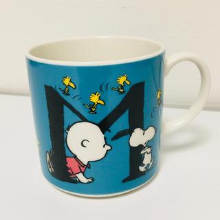 スヌーピー(SNOOPY)のSNOOPY イニシャル マグカップ(マグカップ)