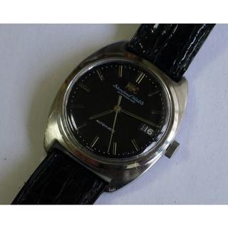 インターナショナルウォッチカンパニー(IWC)のIWC / オールドインター・ブラック・ダイヤル 自動巻SSケース(腕時計(アナログ))