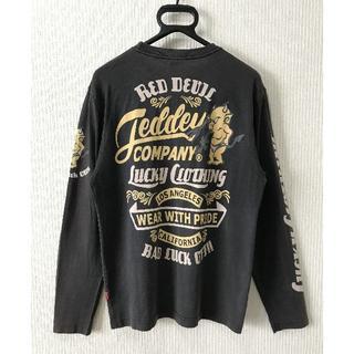 テッドマン(TEDMAN)の*テッドマン エフ商会 デビル 長袖 Tシャツ 40(Tシャツ/カットソー(七分/長袖))